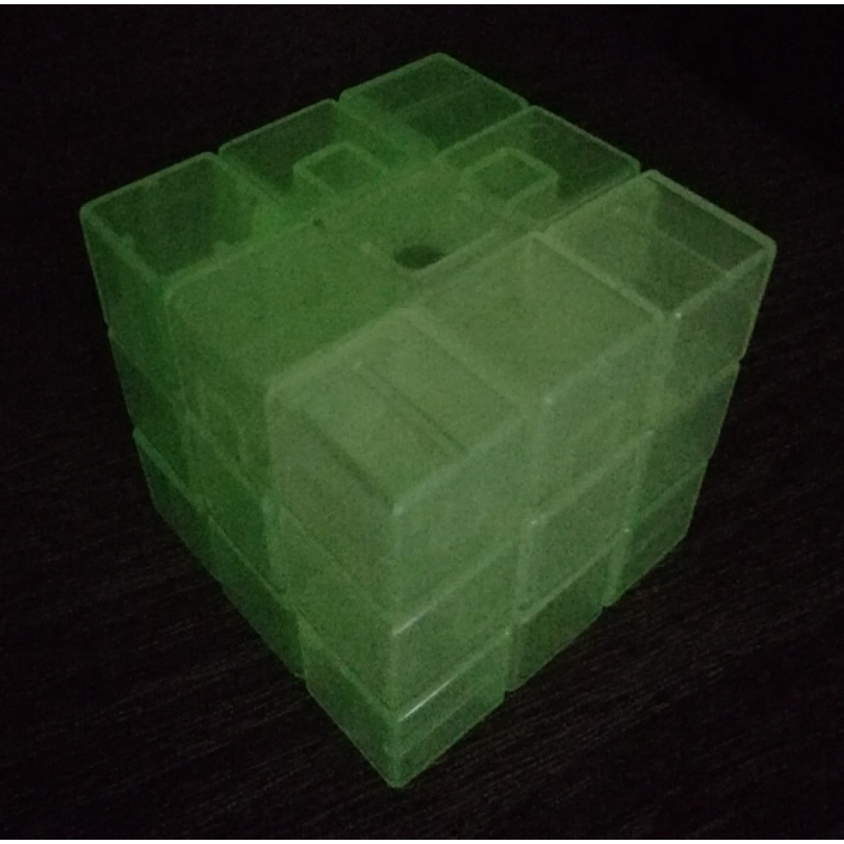 Type C 3x3x3 Magic Cube(V1,Transparent Fluorescent)