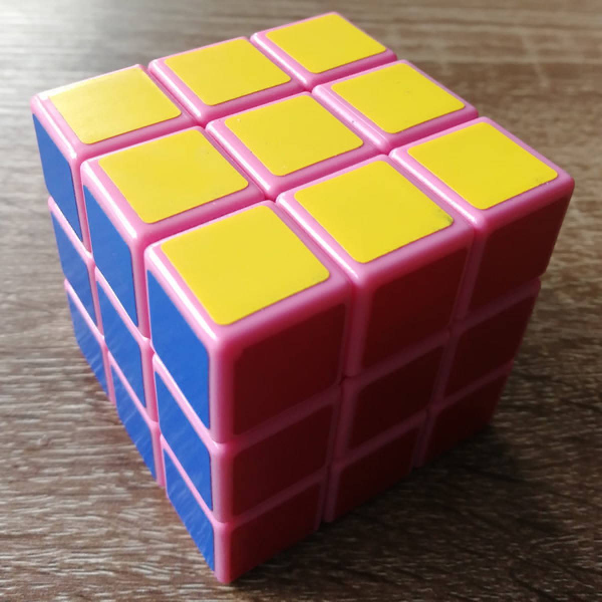 Type C 3x3x3 Magic Cube(V1,Pink Color)