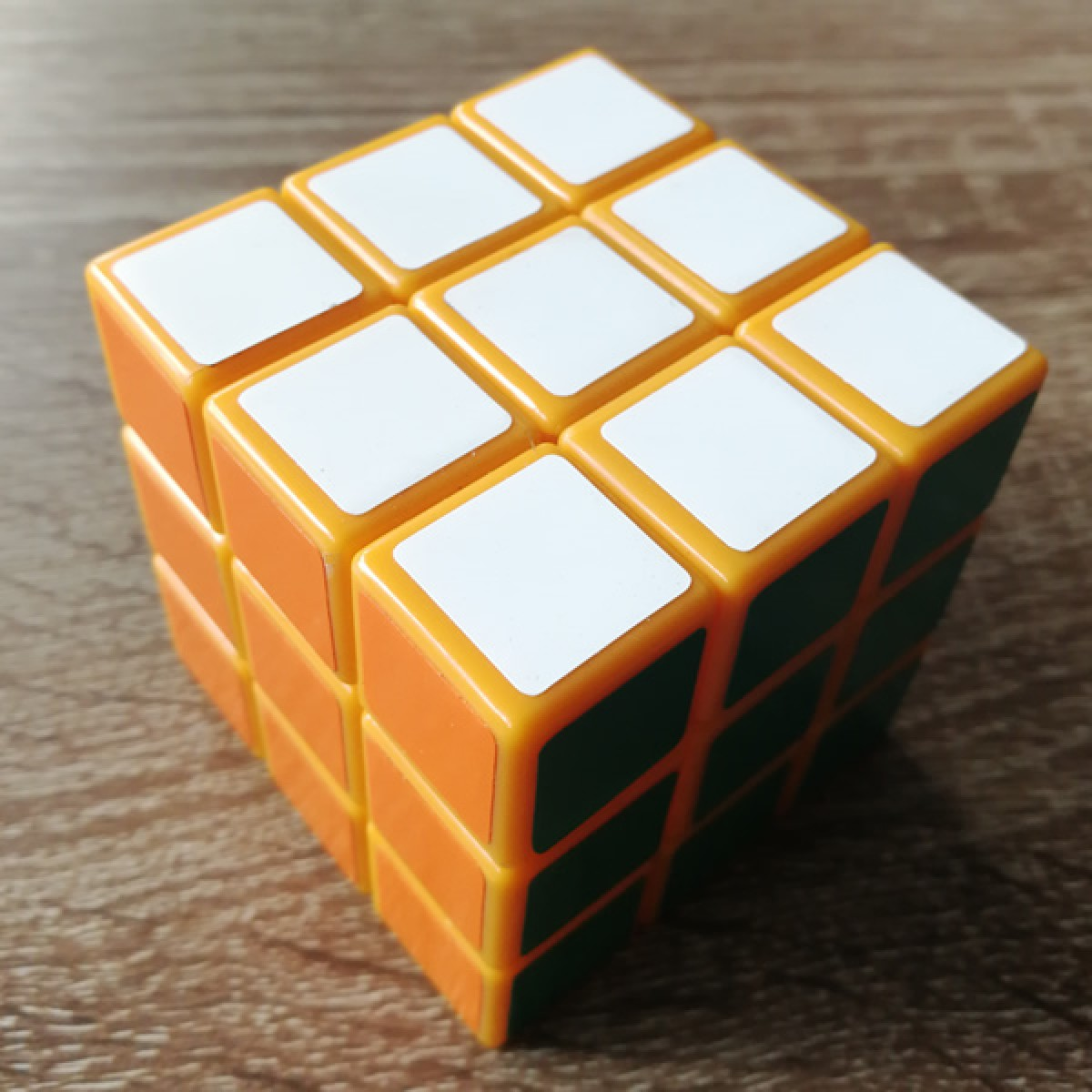 Type C 3x3x3 Magic Cube(V1,Yellow Color)