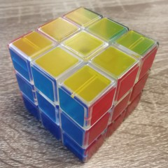 Type C 3x3x3 Magic Cube(V1,Transparent