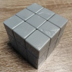 Type C 3x3x3 Magic Cube(V1,Silver gray)