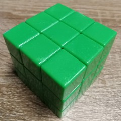 Type C 3x3x3 Magic Cube(V1,Green Color)
