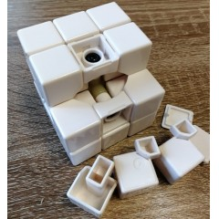 Type C 3x3x3 Magic Cube(V1,White Color)
