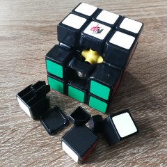 Type A 3x3x3 Magic Cube(V5,Black,White)
