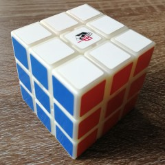 Type A 3x3x3 Magic Cube(V3,Black,White,Primary Colour)