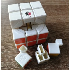 Type A 3x3x3 Magic Cube(V2,White,Primary Colour)