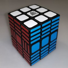 WitEden 3 x 3 x 11 Black Magic Cube(Total 4 pcs)